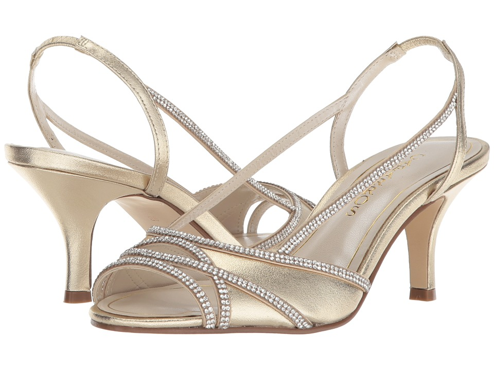 Caparros Melizza (Metallic Brite Gold Metallic) Women