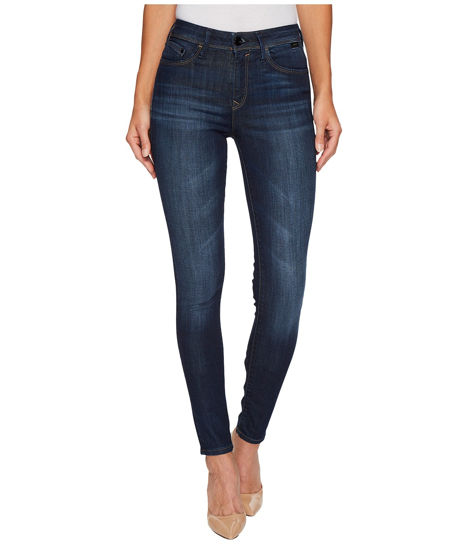 Mavi Jeans - Alissa in Dark Brushed Indigo Gold (Dark Brushed Indigo Gold) Women's Jeans