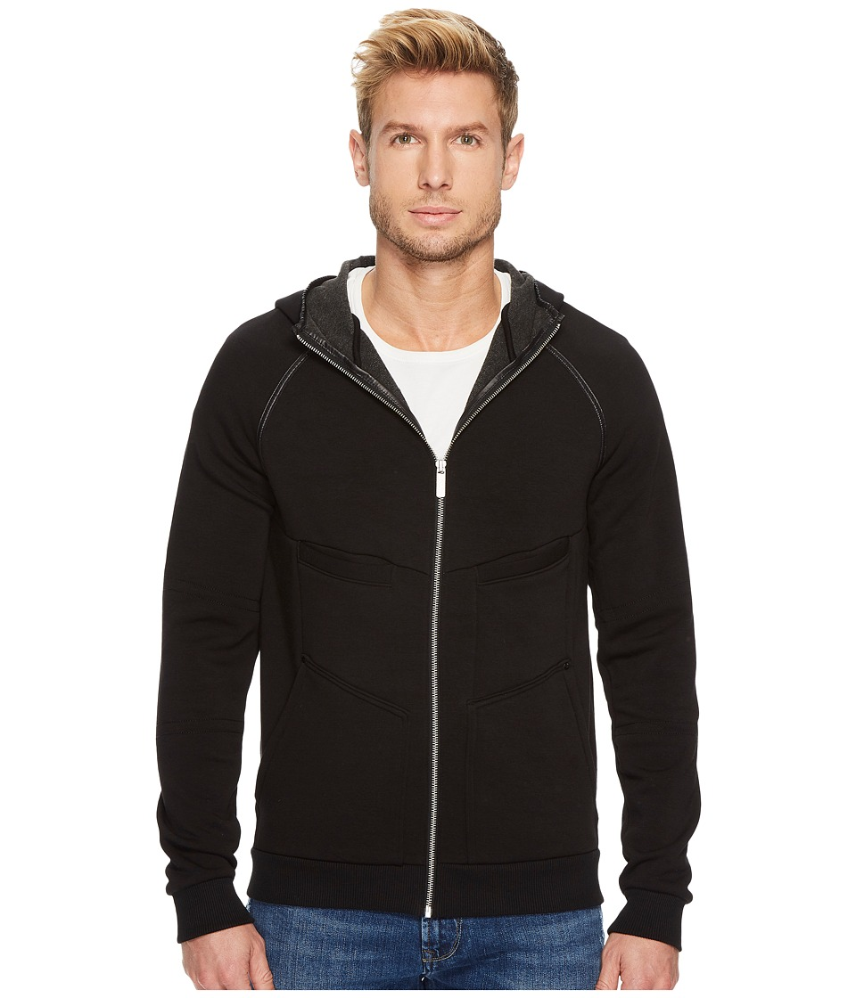 Mavi Jeans - Ken Pile Sweat in Black (Black) Men's Clothing