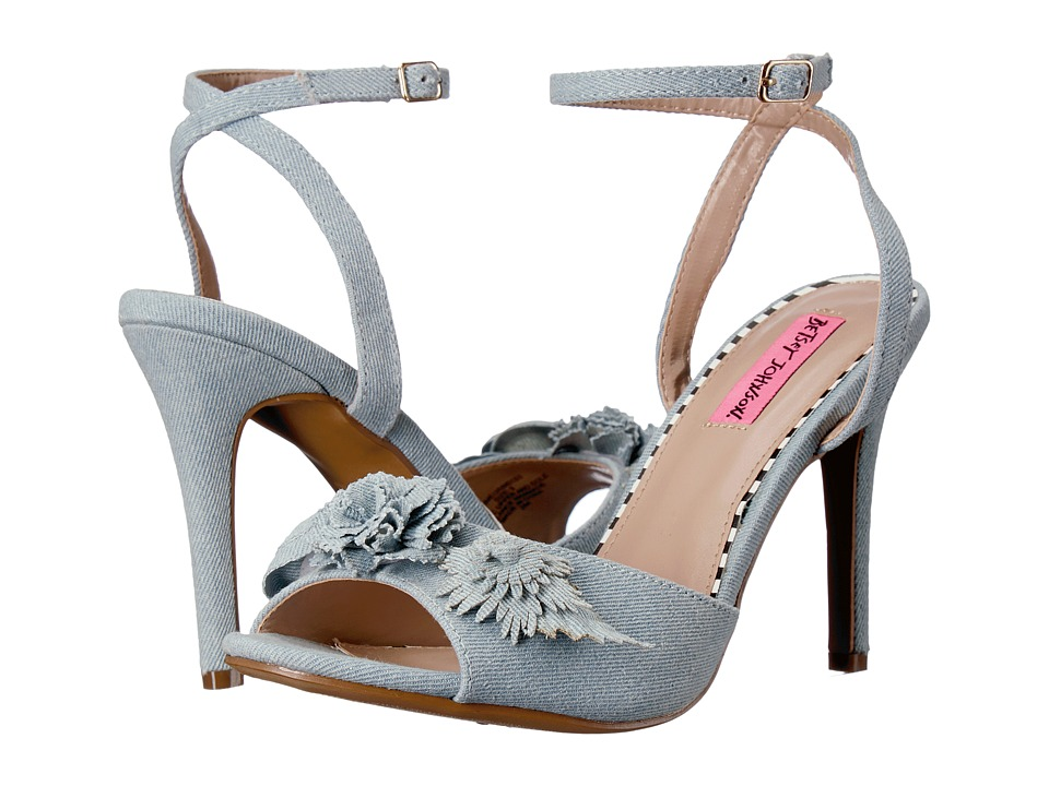 Blue by Betsey Johnson Jaime (Denim Multi) High Heels