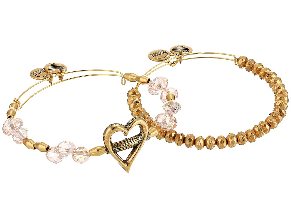 Alex and Ani - Heartfelt Set (Rafalian Gold) Bracelet