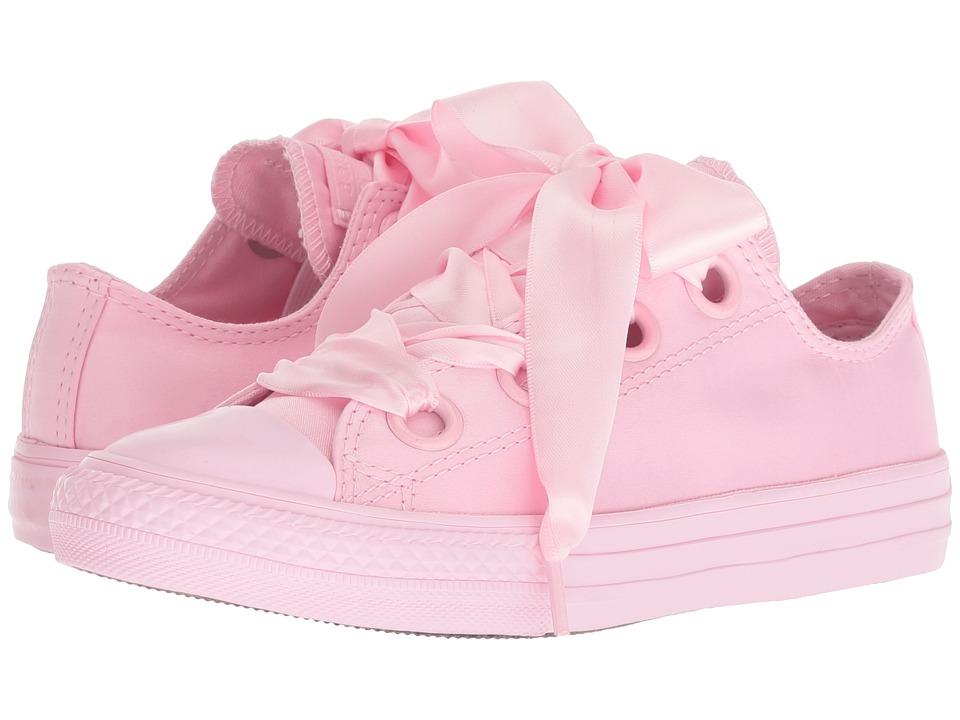 Converse Kids Chuck Taylor(r) All Star(r) Big Eyelets Ox (Little Kid/Big Kid) (Cherry Blossom/Cherry Blossom/Cherry Blossom) Girls Shoes