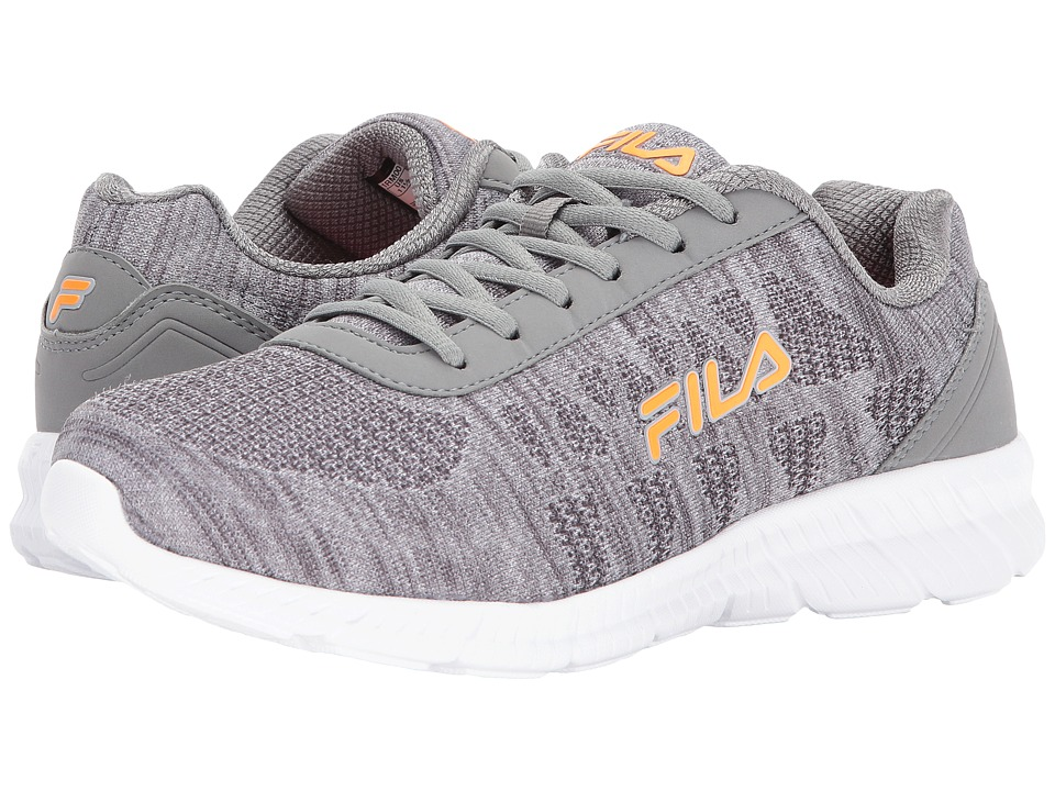 Fila Memory Track Knit (Castlerock/Monument/Vibrant Orange) Men