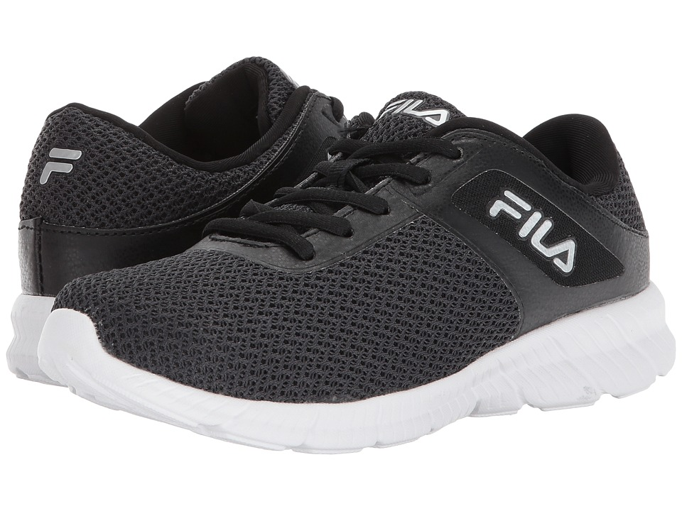 Fila - Memory Skip (Black/Metallic Silver/White) Women's Shoes