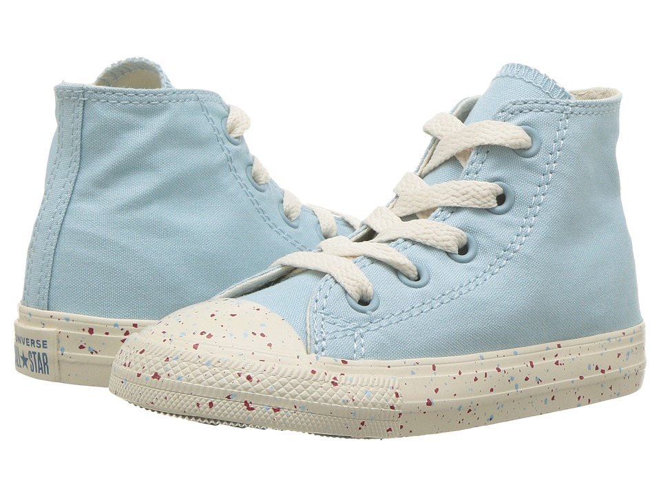 Converse Kids Chuck Taylor(r) All Star(r) Speckled Americana Hi (Infant/Toddler) (Ocean Bliss/Driftwood/Enamel Red) Kids Shoes