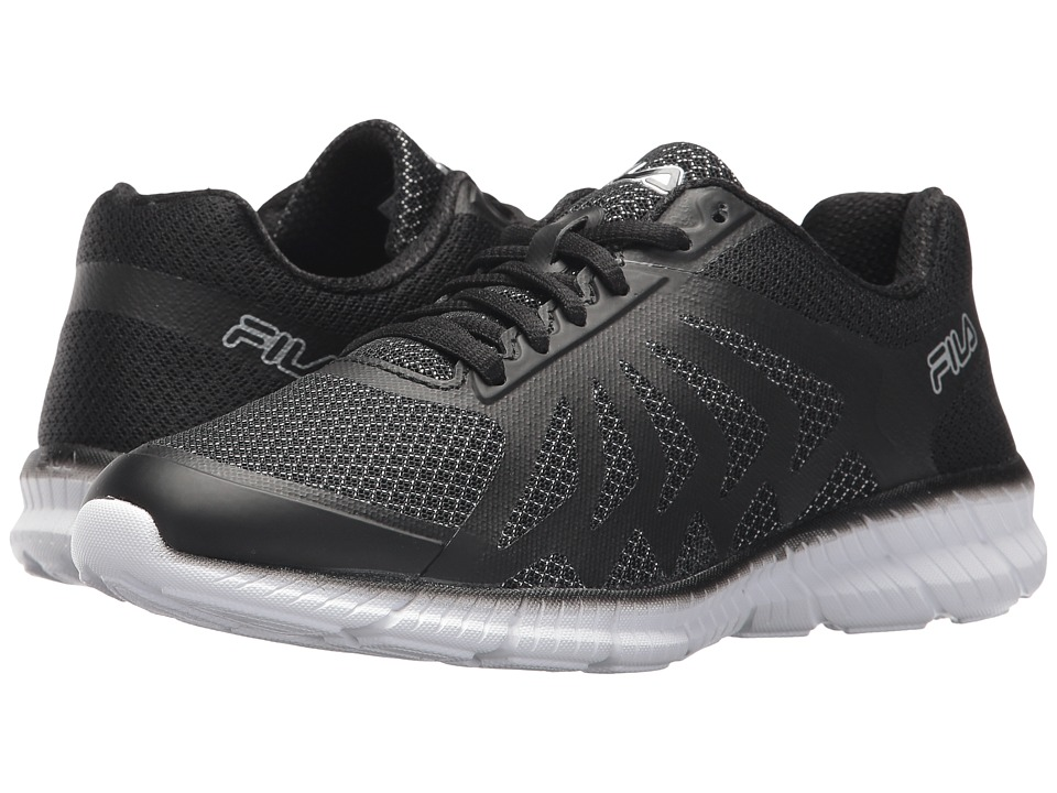 Fila Memory Faction 2 (Black/Metallic Silver/White) Women