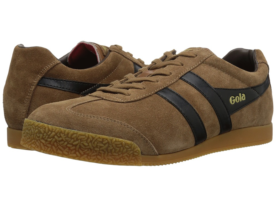 Gola Harrier TobaccoBlackDark Brown Boys Shoes