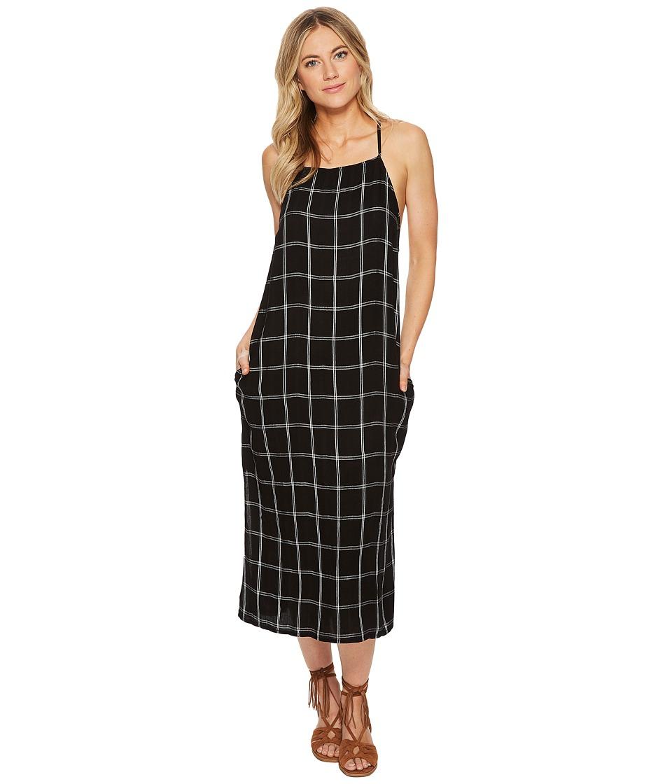 Volcom Jumponit Dress (Black) Women