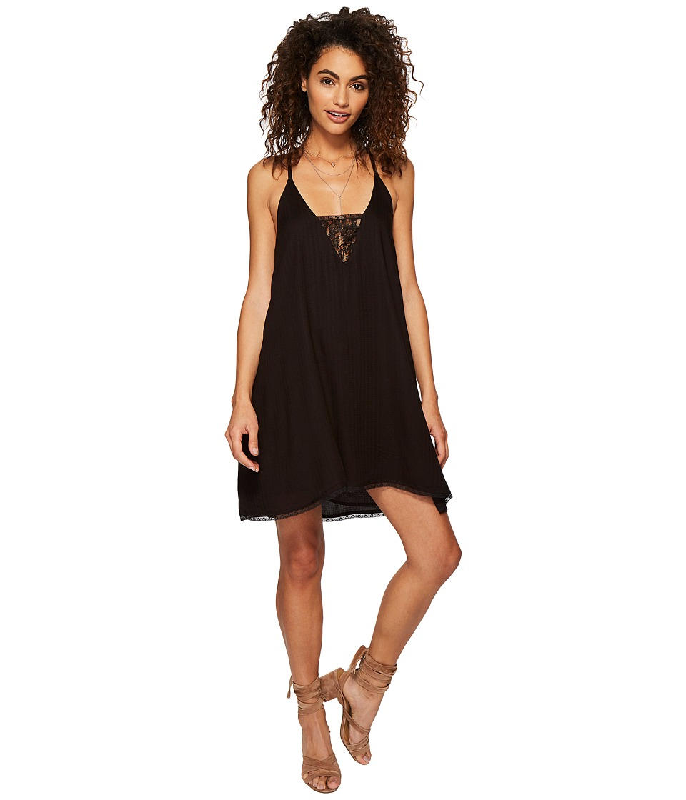Volcom Bout Now Mini Dress (Black) Women