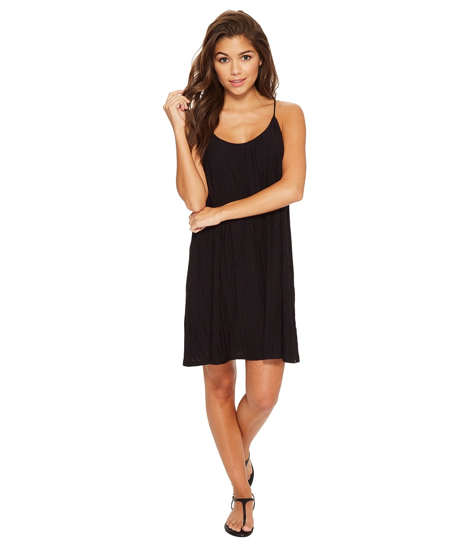 Volcom Cross Check Dress (Black) Women