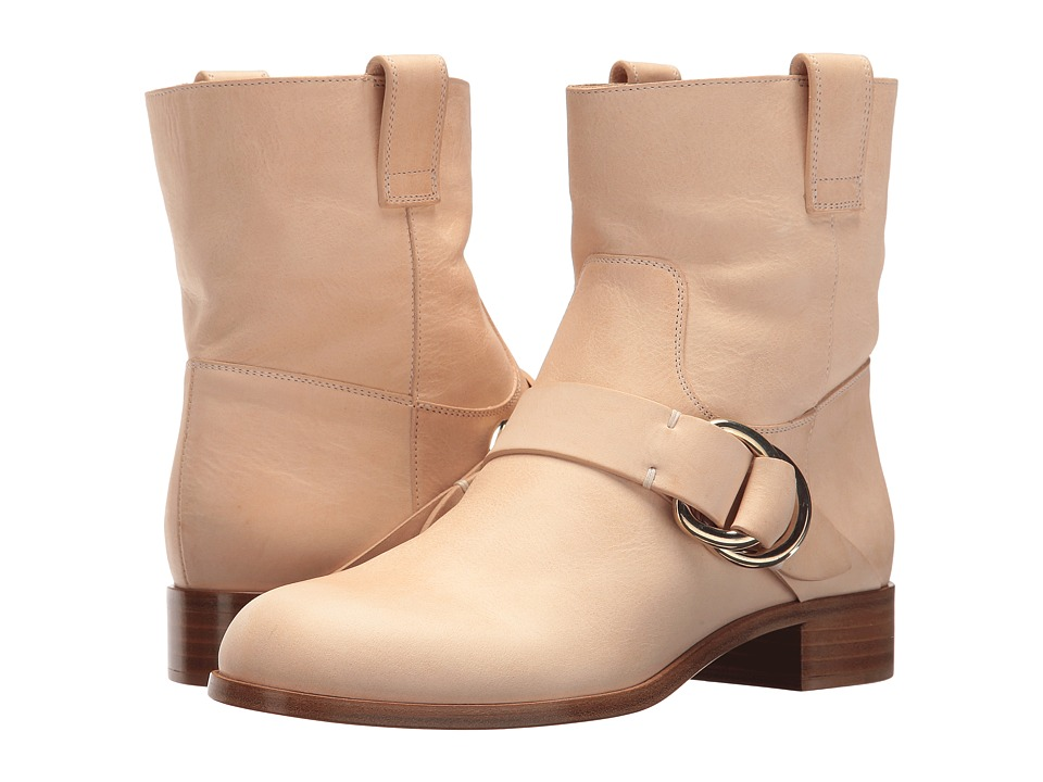 Frye - Ricki Ring Strap (Beige) Women's Shoes
