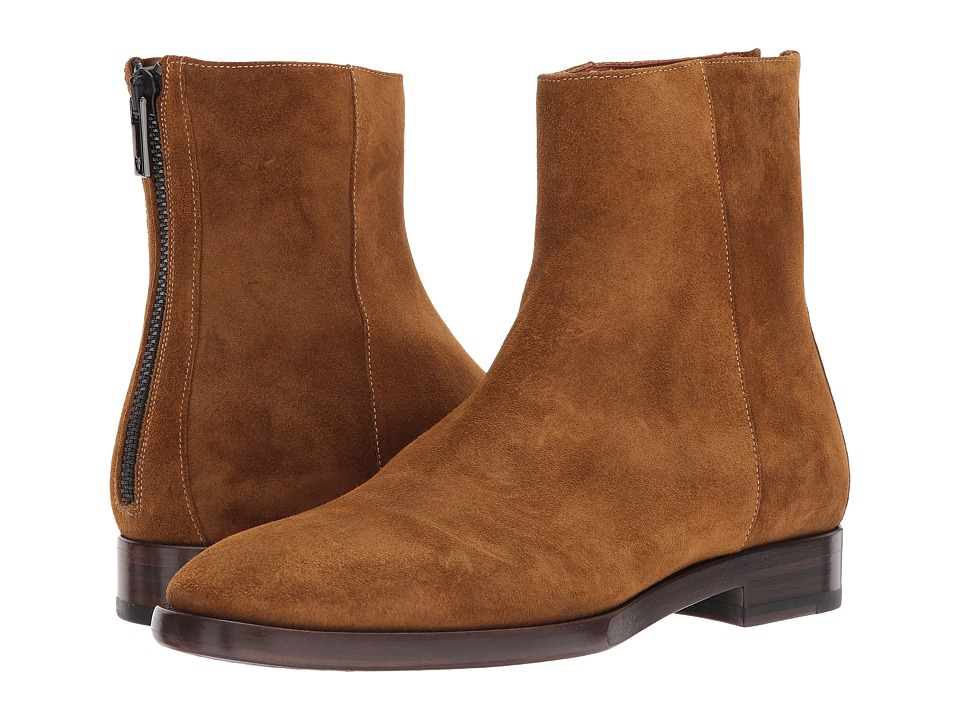 Frye - Wright Back Zip (Wheat) Men's Shoes