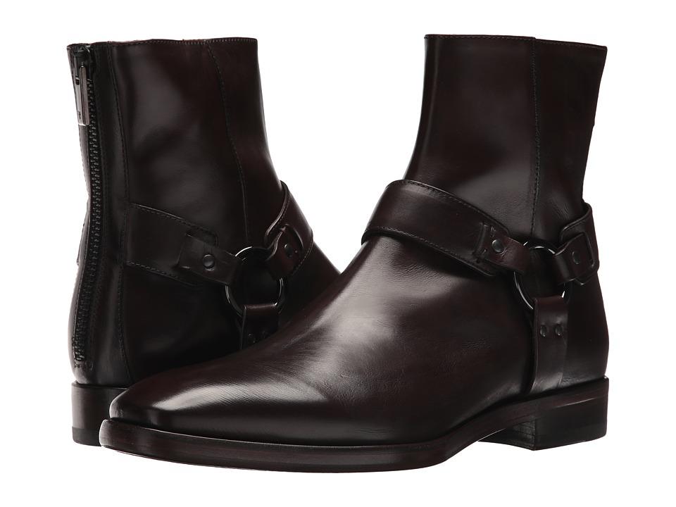 Frye - Wright Harness (Dark Brown) Men's Shoes