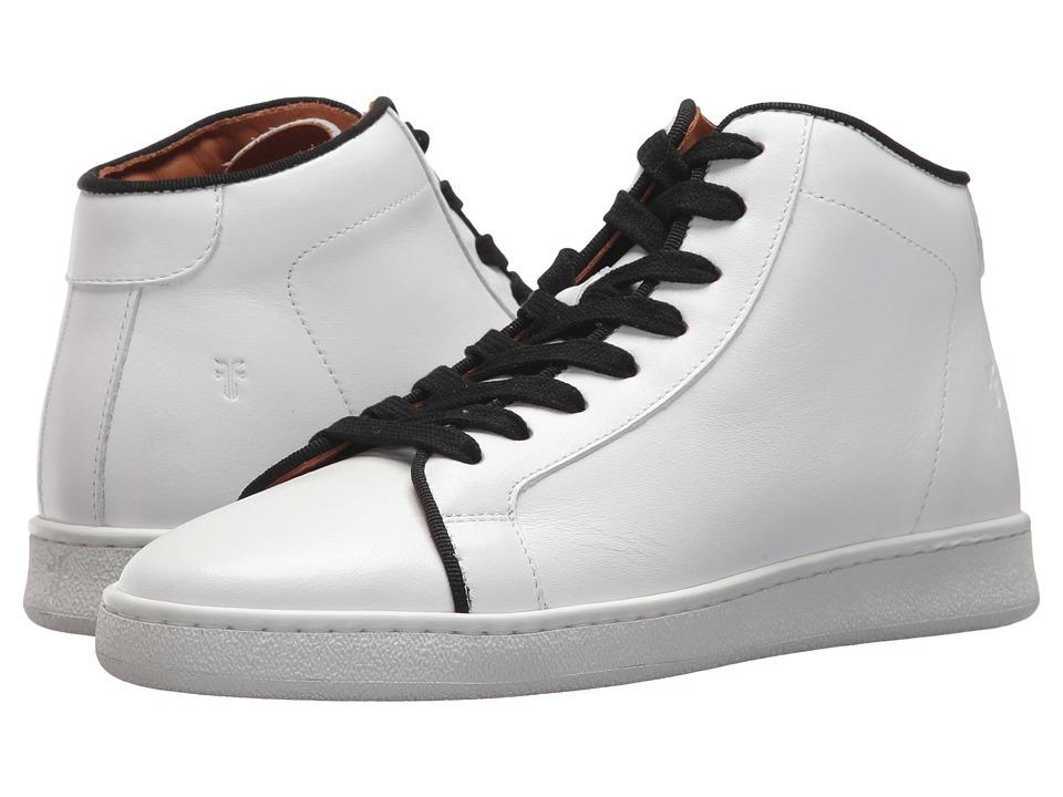 Frye Alexis High Top (White/Black) Women's Shoes