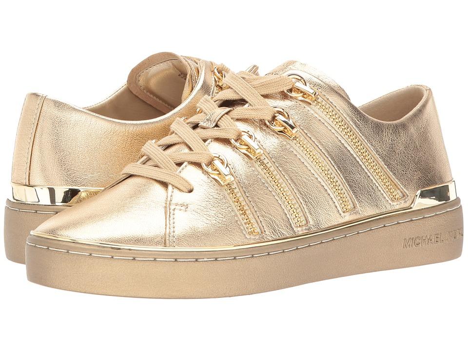 MICHAEL Michael Kors Chelsie Sneaker (Pale Gold) Women