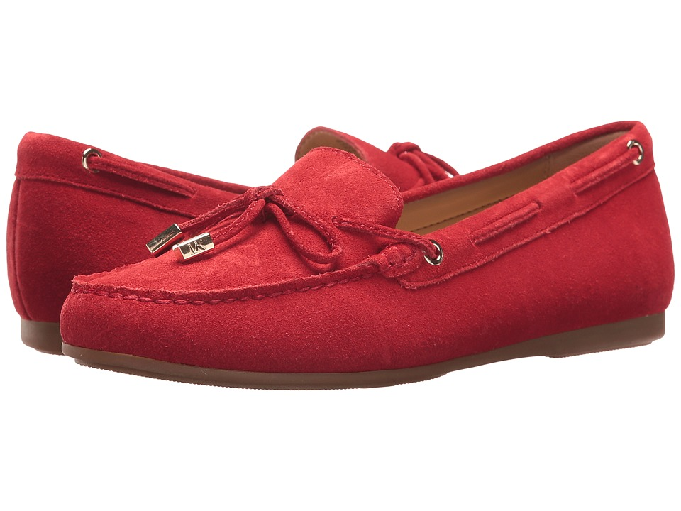 MICHAEL Michael Kors - Sutton Moc (Bright Red) Women's Shoes