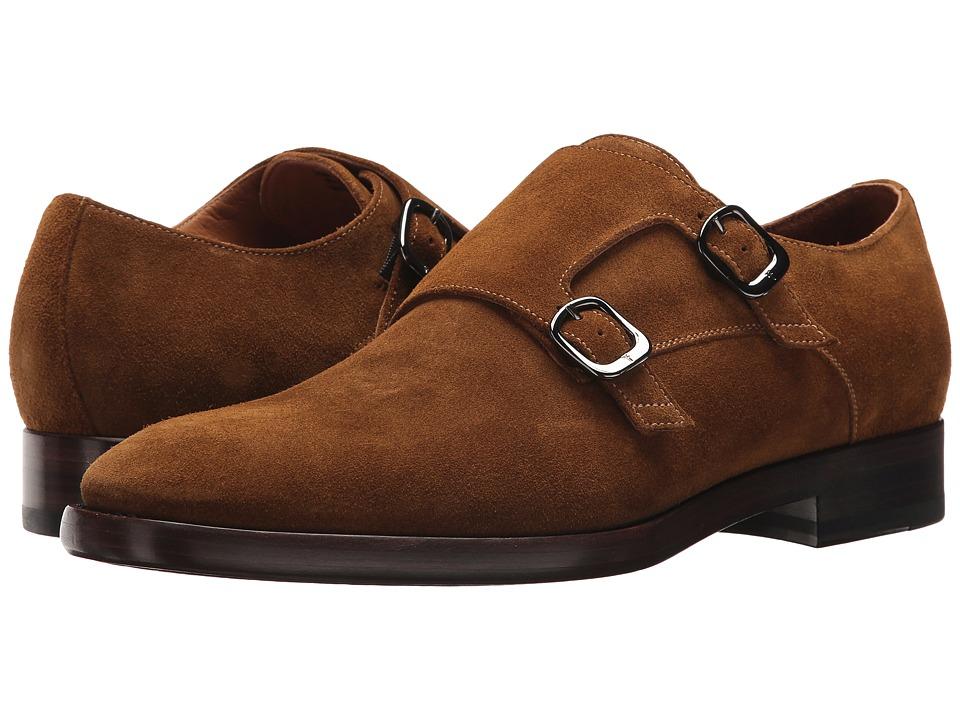 Frye - Wright Double Monk (Wheat) Men's Shoes
