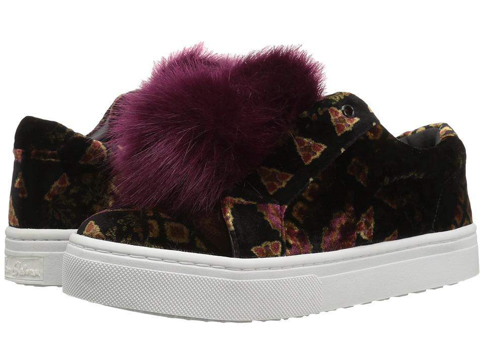 Sam Edelman - Leya (Black Multi Velvet) Women's Shoes