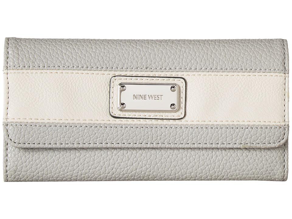 Nine West - Segment SLG (Mist/Chalk) Wallet