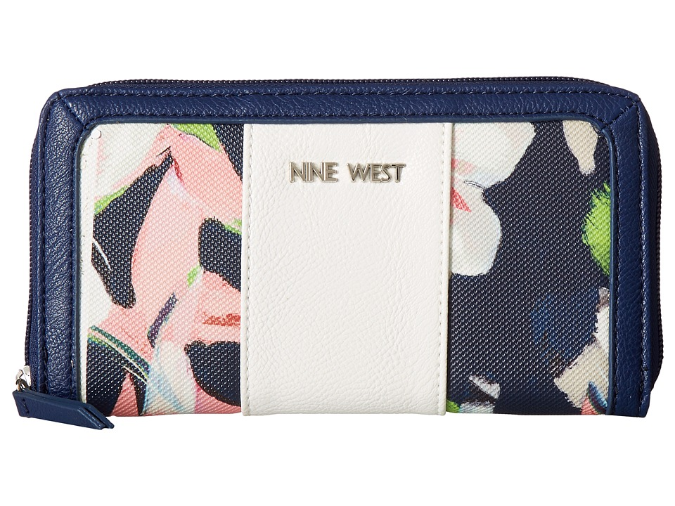 Nine West - Aby SLG (Garden Floral/Snow Pearl) Wallet