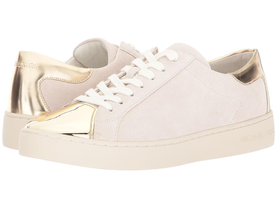 MICHAEL Michael Kors Frankie Sneaker (Chalk/Pale Gold) Women