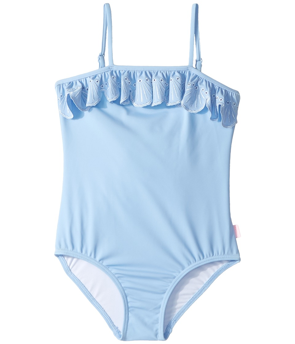 Seafolly Kids Sweet Summer Frill Tube Tank One-Piece (Infant/Toddler/Little Kids) (Bluebell) Girl