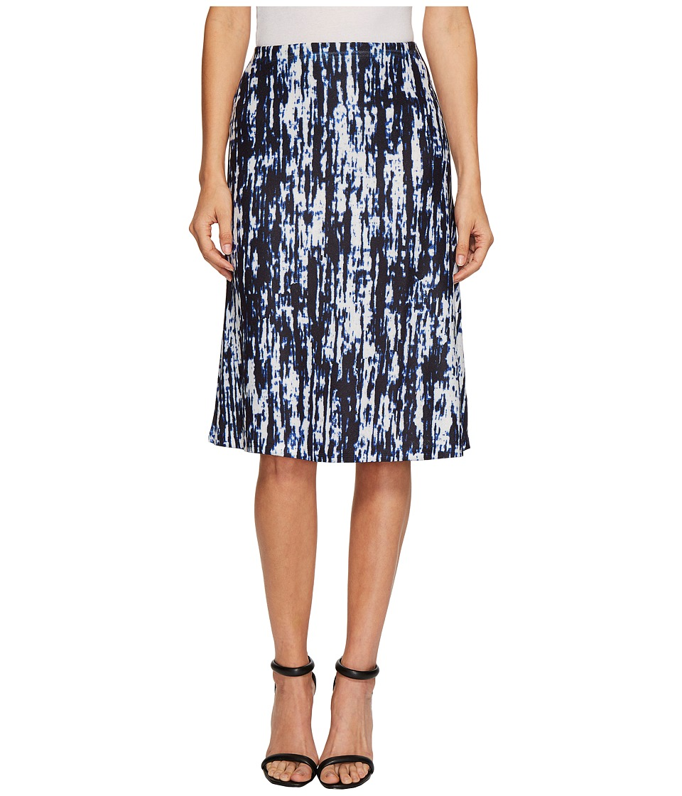 Nally & Millie Static Print Skirt (Multi) Women