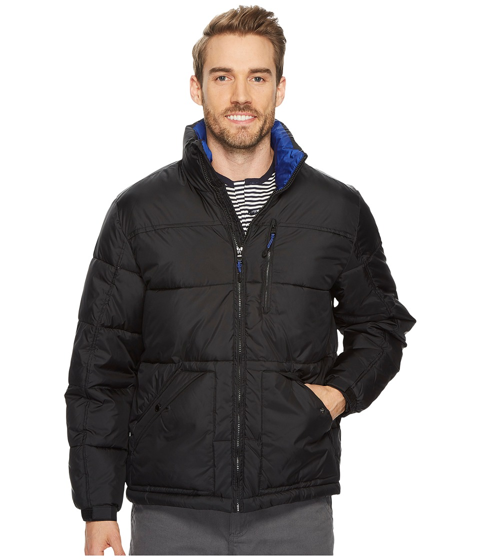 CHAPS - Insulated Puffer Jacket (Black) Men's Coat