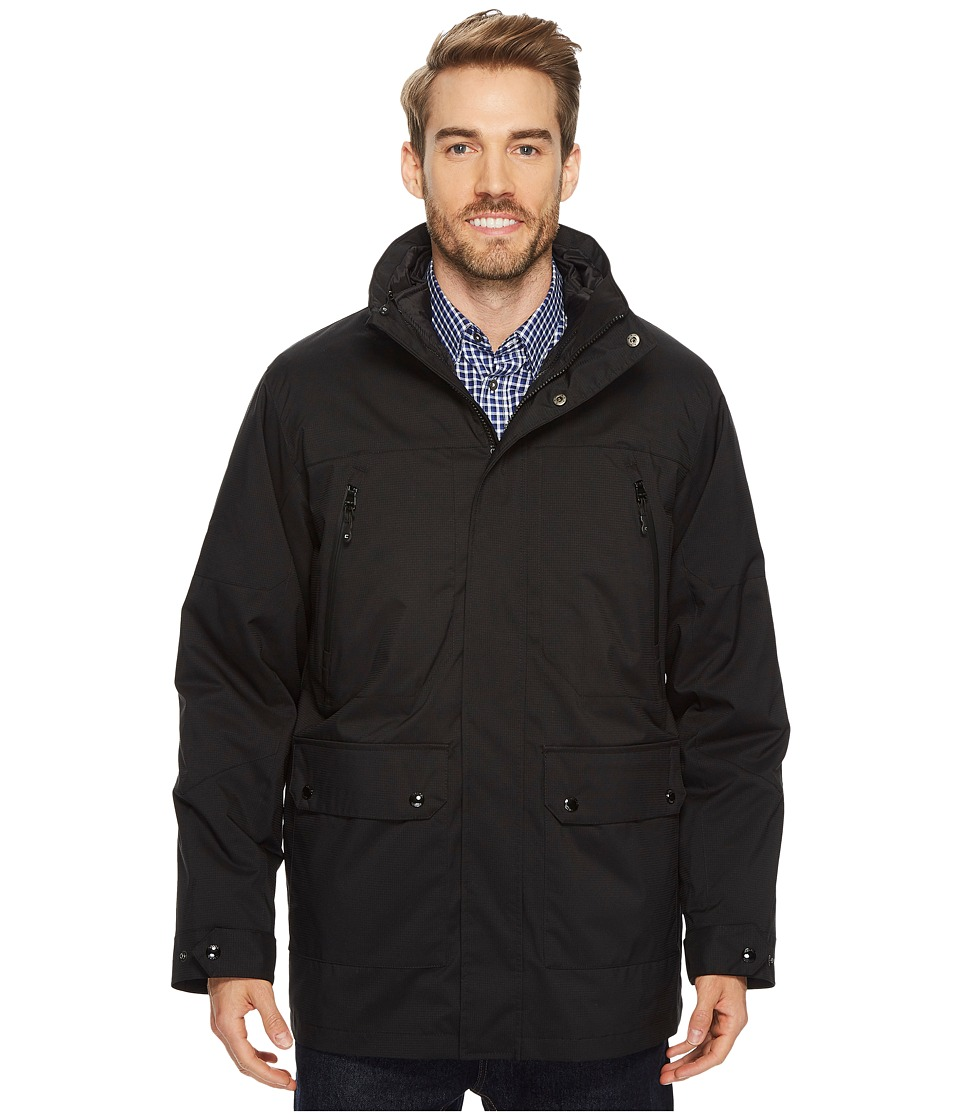 CHAPS - 3-in-1 Systems Jacket (Black/Black) Men's Coat