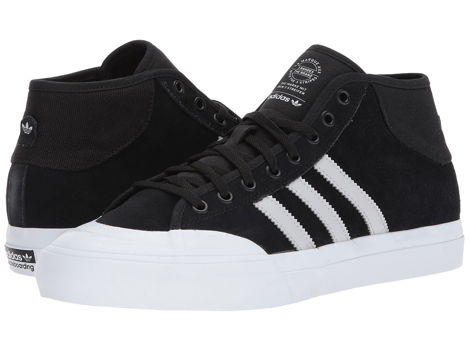 adidas - Matchcourt Mid ADV (Black/Light Grey/White) Men's Shoes
