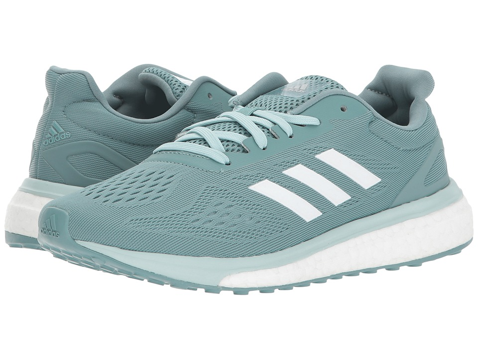 adidas - Response LT (Vapor Steel/White/Vapor Green) Women's Shoes