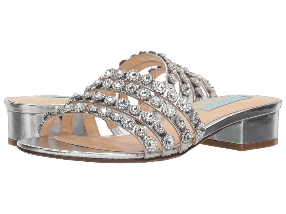 Betsey Johnson Sophi (Silver Metallic) Women