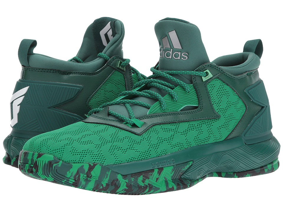 adidas - D Lillard 2 (Green/Green/White) Men's Basketball Shoes