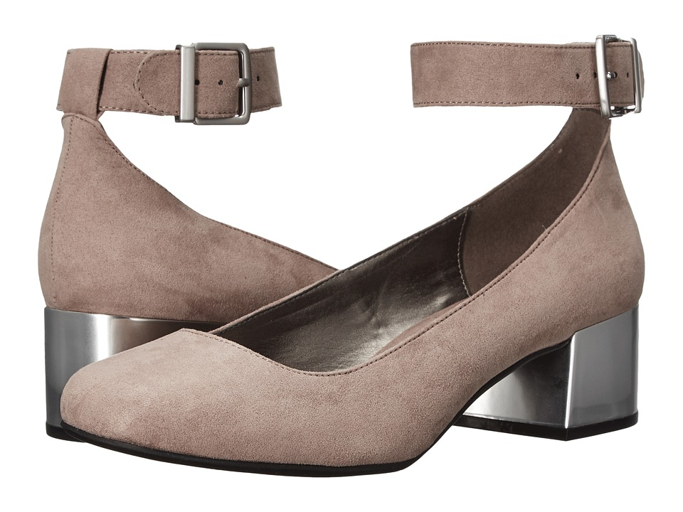 Kenneth Cole Reaction - Flip Around (Taupe Microsuede) High Heels
