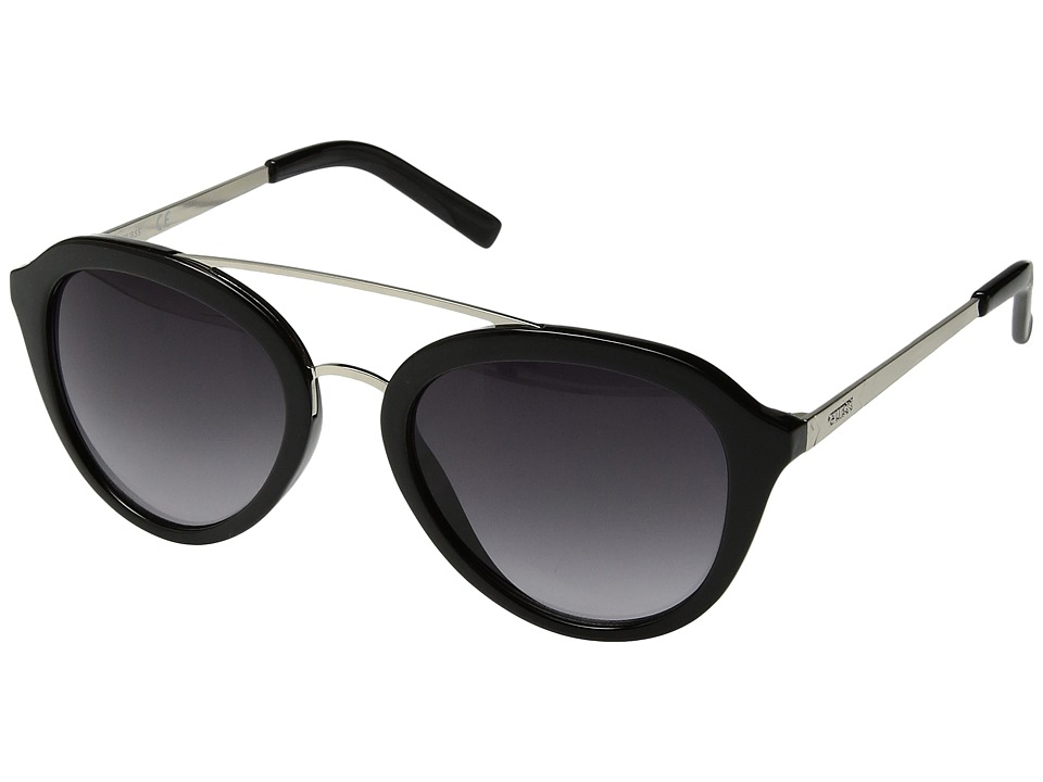 GUESS - GF0310 (Shiny Black/Gradient Smoke) Fashion Sunglasses