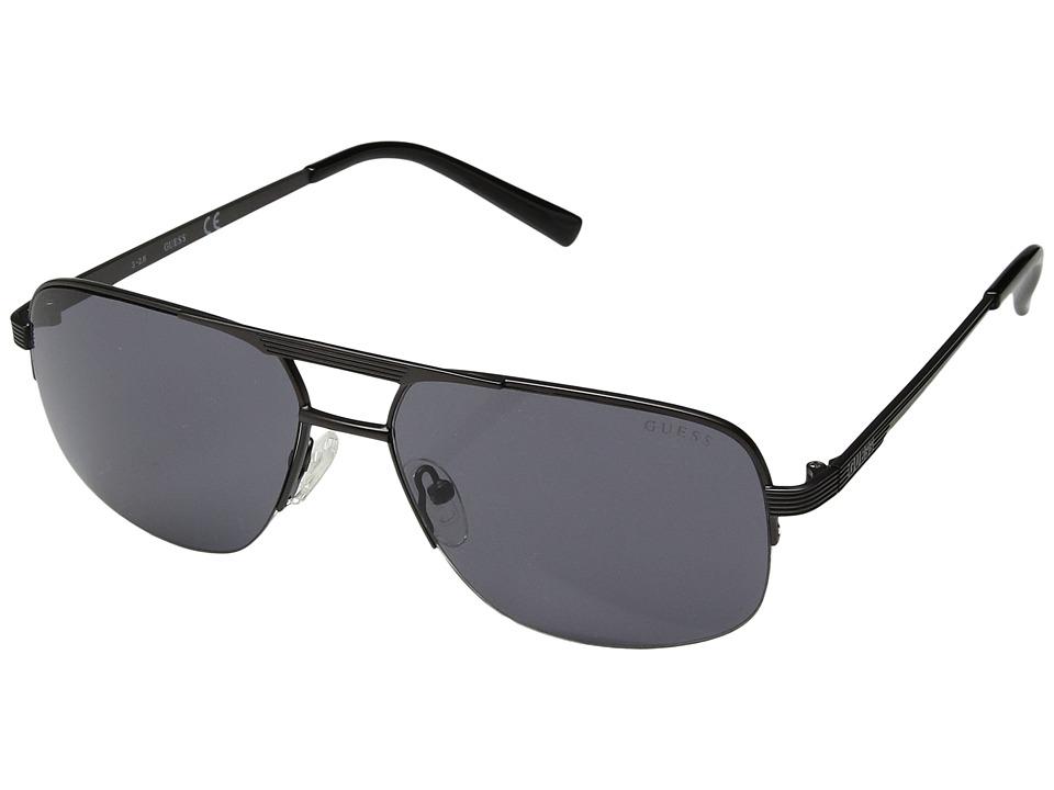 GUESS - GF5008 (Matte Gunmetal/Smoke) Fashion Sunglasses