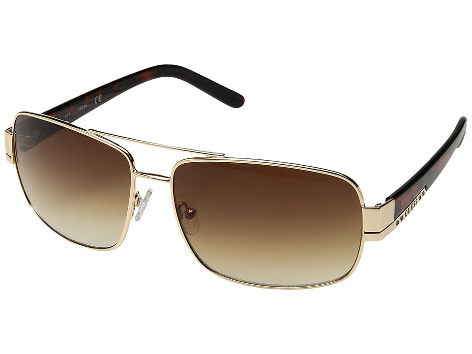 GUESS - GU0114F (Gold) Fashion Sunglasses