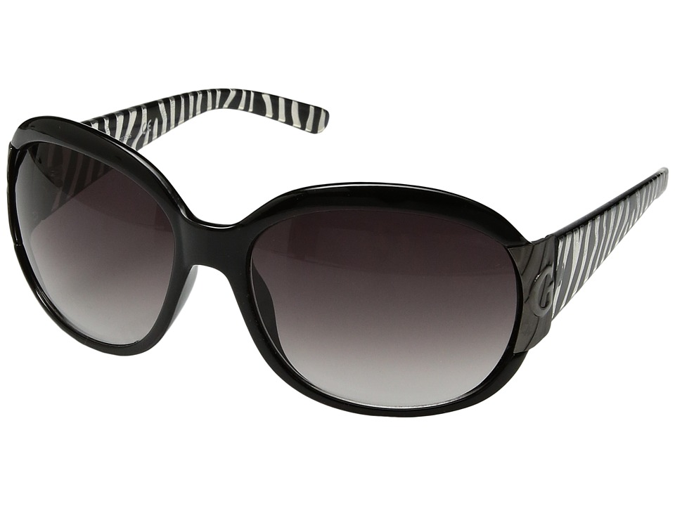 GUESS - GU7002 (Black/White) Fashion Sunglasses