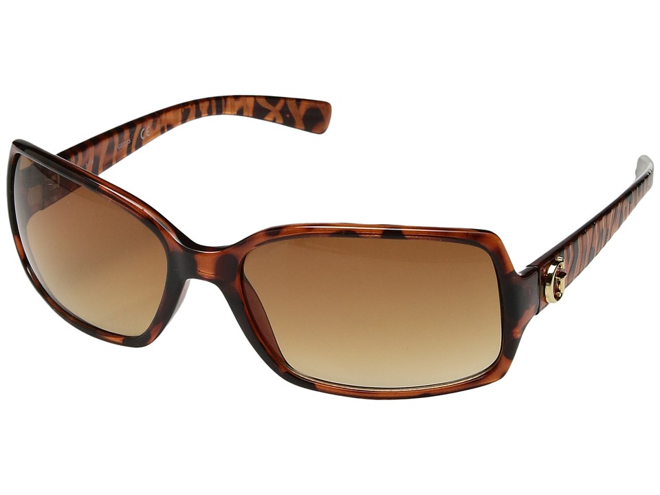 GUESS - GU7012 (Tortoise) Fashion Sunglasses