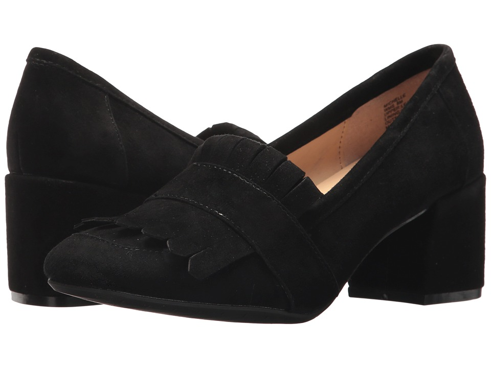 Kenneth Cole Reaction Michelle (Black Suede) High Heels