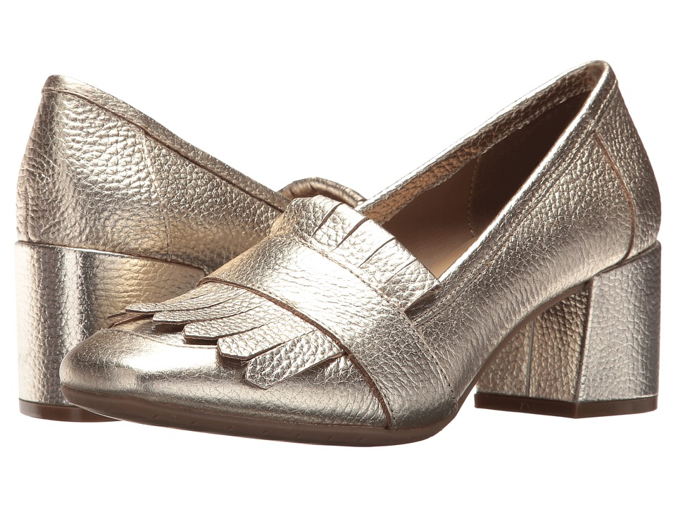 Kenneth Cole Reaction Michelle (Gold Leather) High Heels