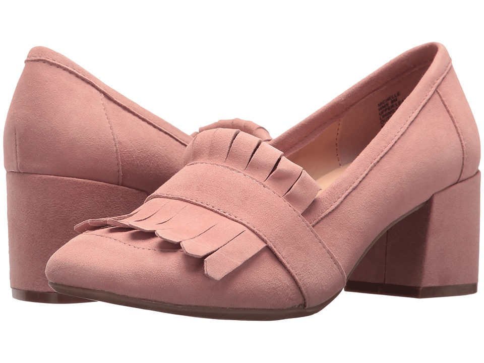 Kenneth Cole Reaction Michelle (Blush Suede) High Heels