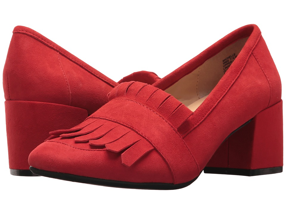 Kenneth Cole Reaction Michelle (Red Suede) High Heels