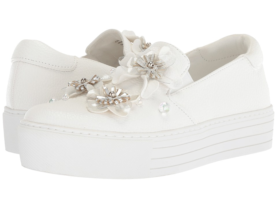 Kenneth Cole Reaction Cheer Floral (White Synthetic) Women