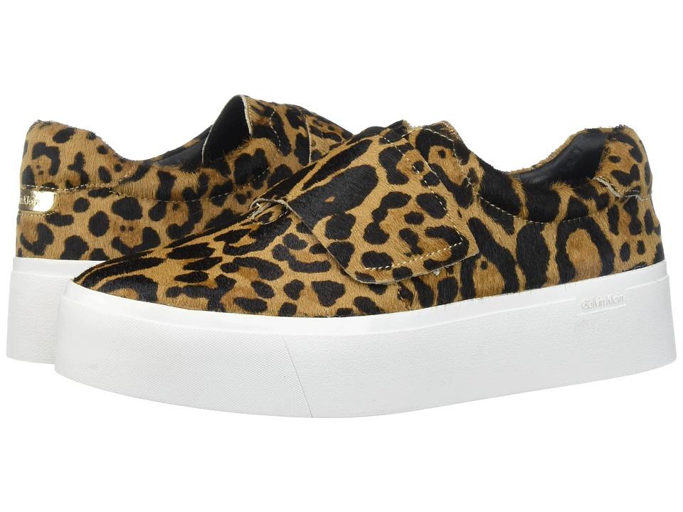 Calvin Klein Jaiden (Natural Winter Leopard Haircalf) Women