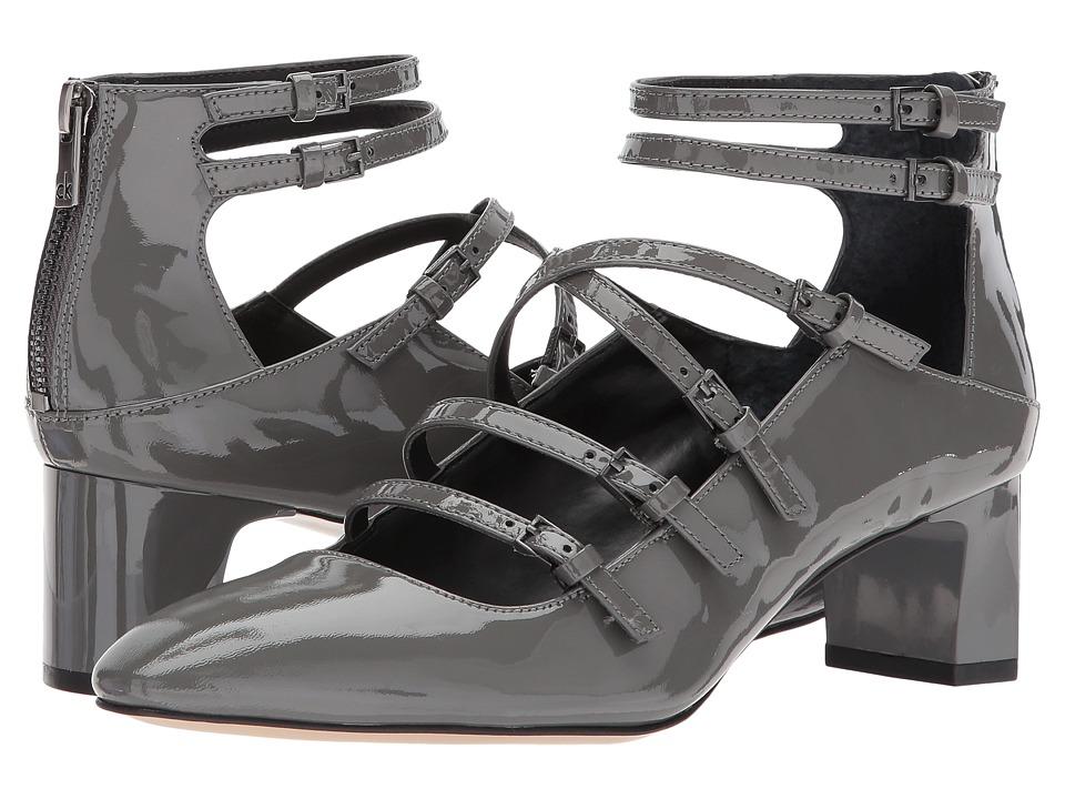 Calvin Klein - Madlenka (Slate Patent) Women's Shoes