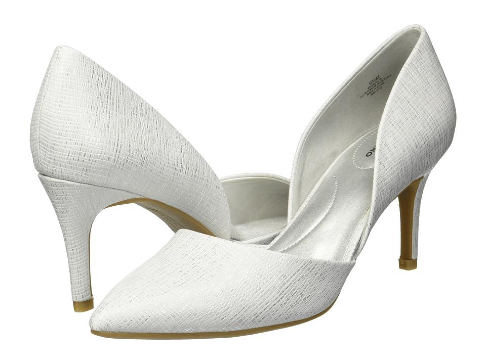 Bandolino Grenow (White Antigua Metallic) Women