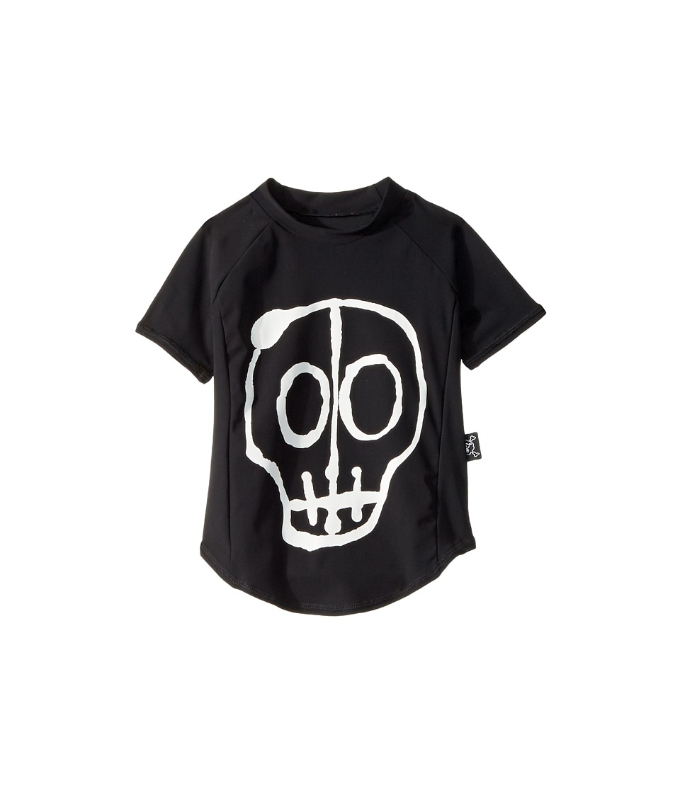 Nununu Skull Mask Rashguard (Infant/Toddler/Little Kids) (Black) Boy