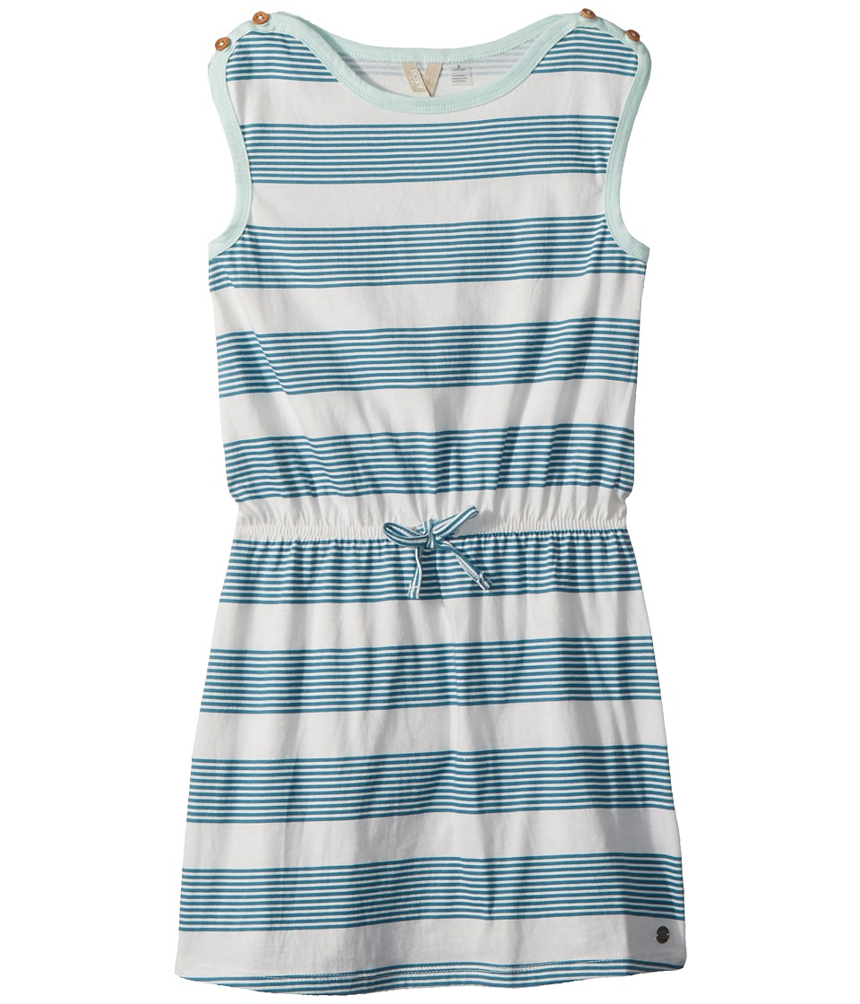 Roxy Kids My Love Flies RG Dress (Big Kids) (Storm Blue Mini Docker Stripe) Girl