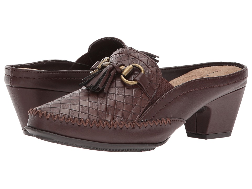 Rialto - Santana (Brown Woven) Women's Shoes